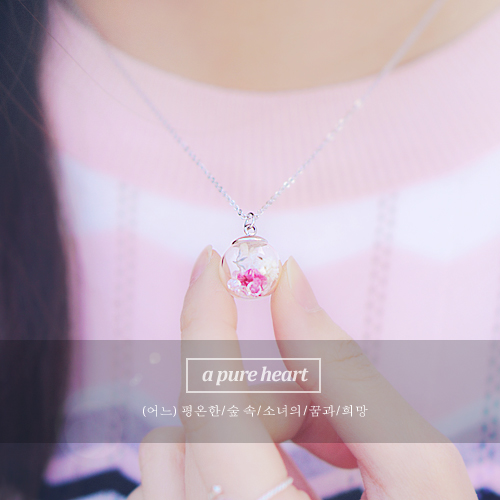 ★Handmade★Pure Melody[Baby's Breath Necklace]