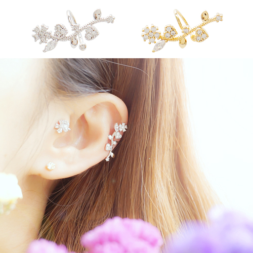 ★EAR CUFFS★SWEET FLOWER Ear Cuffs