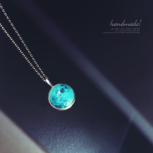 ★silver 925★BLUE MOON Necklace