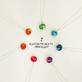 ★Silver 925★RAINBOW THERAPY necklace