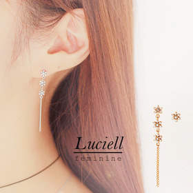 ★Silver Pin★LUCIELL Earring