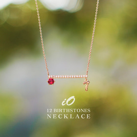 ★12 Birthstones★iO Birthstone Necklace