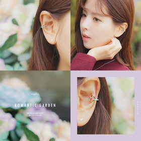 ★ear cuff★ Romantic Garden earcuff